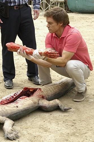 Michael C. Hall nell'episodio Slack Tide di Dexter