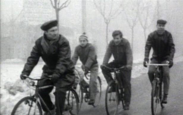 Un'immagine d'archivio nel documentario 'Come mio padre', di S. Mordini