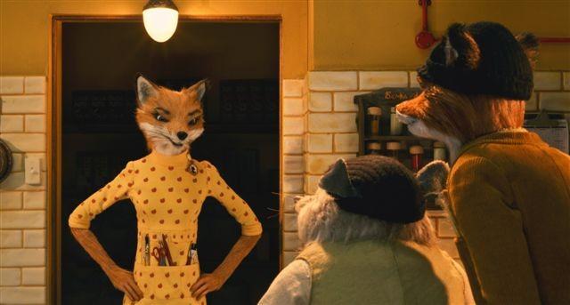 Una scena del cartoon The Fantastic Mr. Fox
