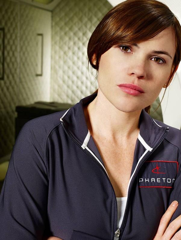 Clea DuVall in una foto promozionale del film tv Virtuality