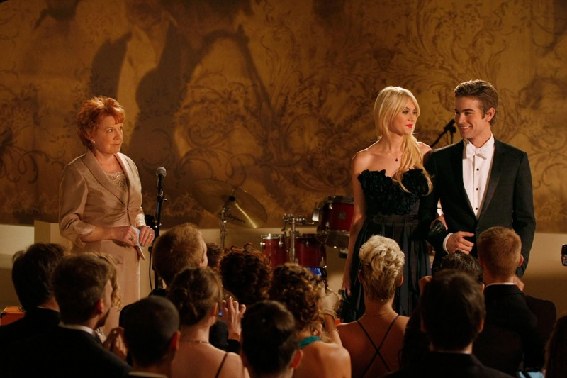 Jenny (Taylor Momsen) e Nate (Chace Crawford) al Cotillion nell'episodio They Shoot Humphreys, Don't They? di Gossip Girl