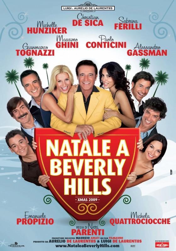 La locandina di Natale a Beverly Hills