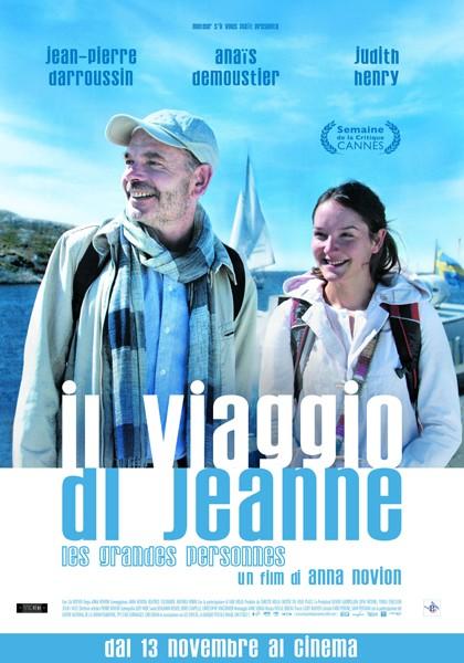La locandina italiana de Il viaggio di Jeanne