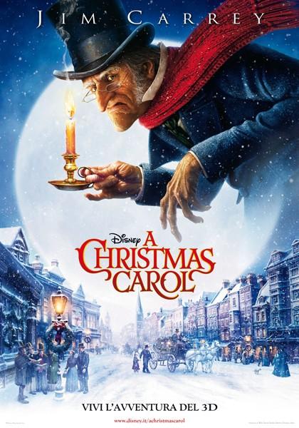 La locandina italiana di A Christmas Carol