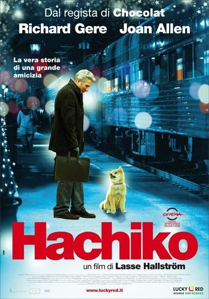 La locandina italiana di Hachiko