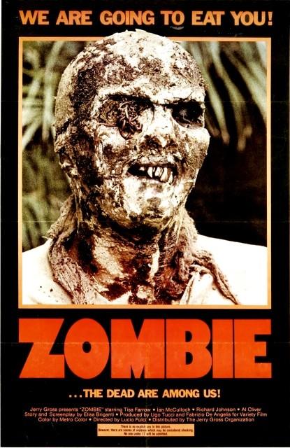 Locandina del film Zombi 2