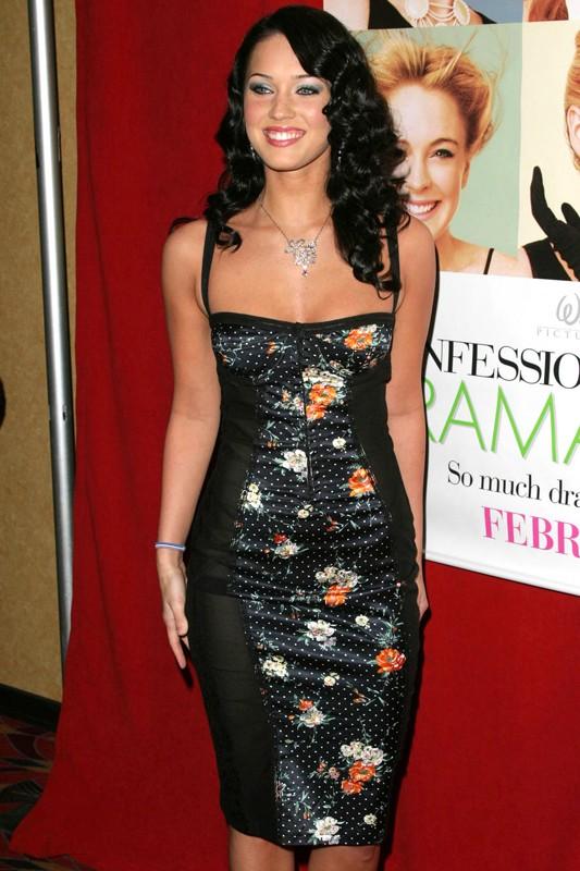 Megan Fox alla premiere del film Confessions of a Teenage Drama Queen nel 2004
