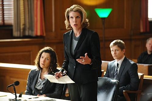 The Good Wife: Christine Baranski in un momento dell'episodio Unprepared