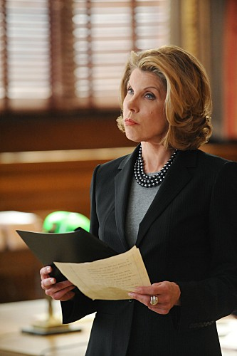 The Good Wife: Christine Baranski in una scena dell'episodio Unprepared