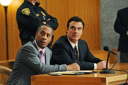 The Good Wife: Joe Morton e Chris Noth nell'episodio Unprepared