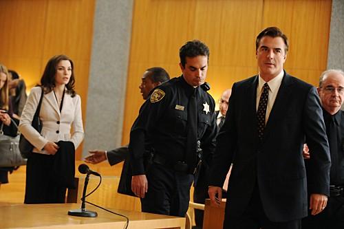The Good Wife: Julianna Margulies e Chris Noth nell'episodio Unprepared