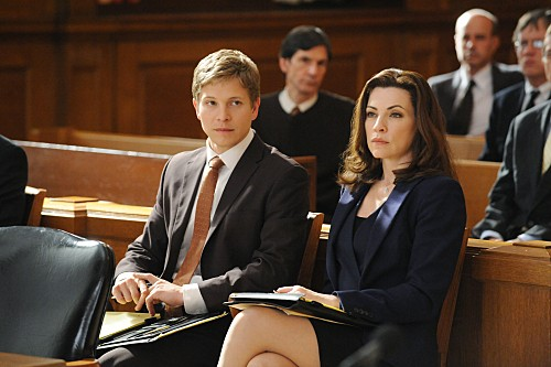The Good Wife: Julianna Margulies e Matt Czuchry nell'episodio Unprepared
