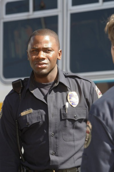 Trauma: Derek Luke in una scena dell'episodio Home Court