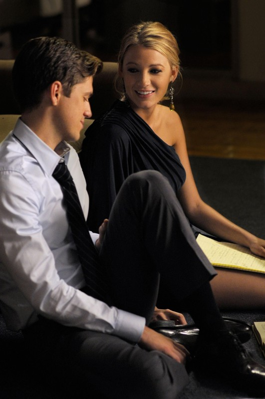 Trip (Aaron Tveit) e Serena (Blake Lively) nell'episodio They Shoot Humphreys, Don't They? di Gossip Girl