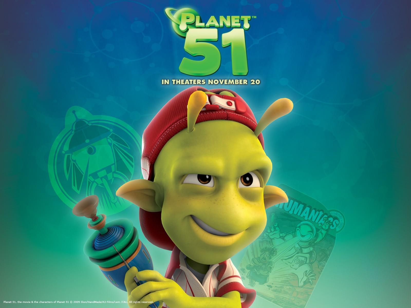 10 - wallpaper ufficiale di Planet 51