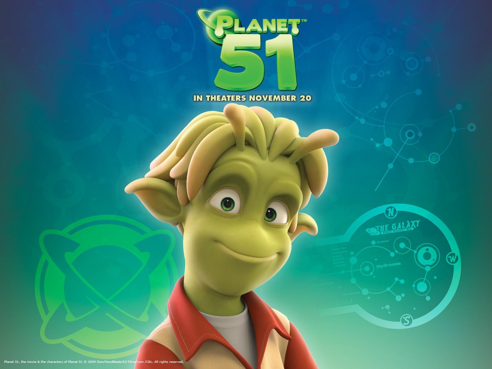 11 - wallpaper ufficiale di Planet 51