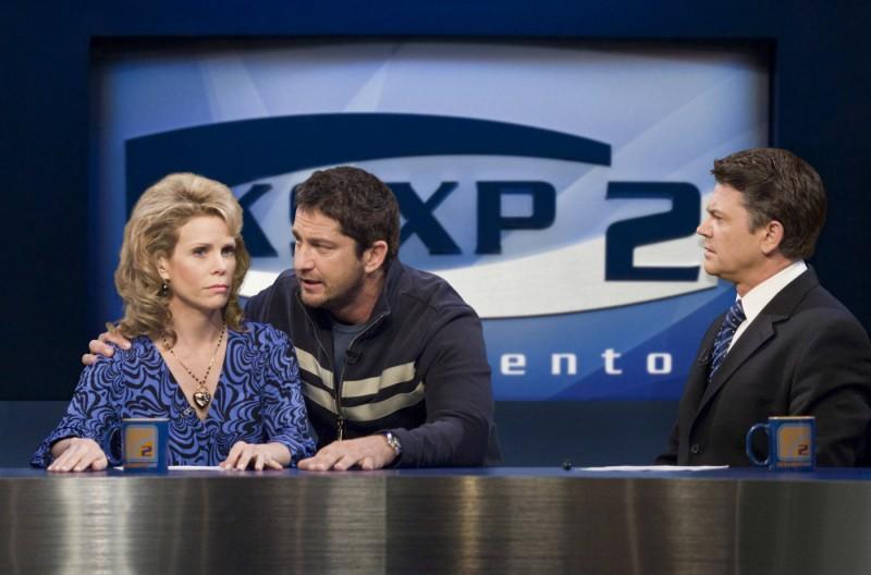 Gerard Butler in una scena della commedia La dura verità (2009)