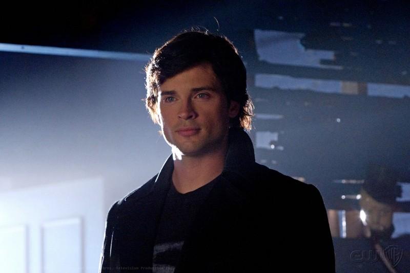 Tom Welling in una scena dell'episodio 'Idol' di Smallville