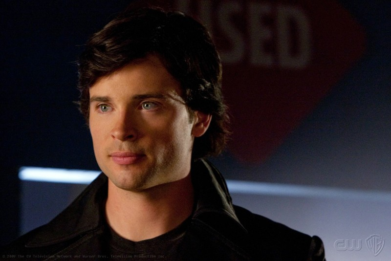 Un primo piano di Tom Welling in una scena dell'episodio 'Idol' di Smallville