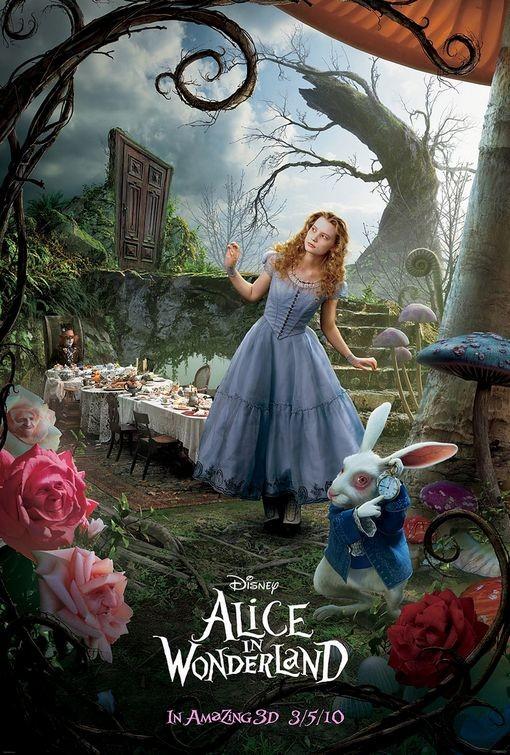 Secondo poster del film Alice in Wonderland