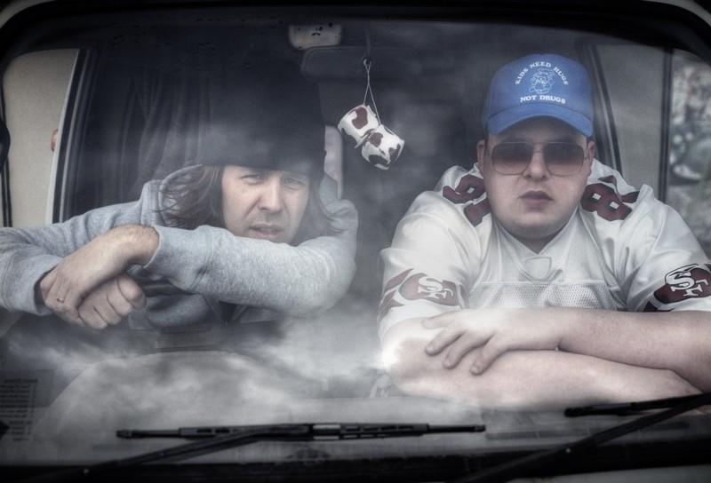Un'immagine tratta dal film Le Donk & Scor-zay-ze