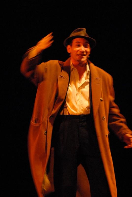Carlo Vitale in scena a teatro