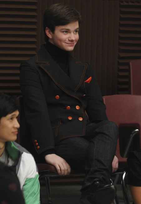 Glee: Chris Colfer nell'episodio Ballads