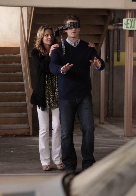 Glee: Jessalyn Gilsig e Matthew Morrison nell'episodio Hairography
