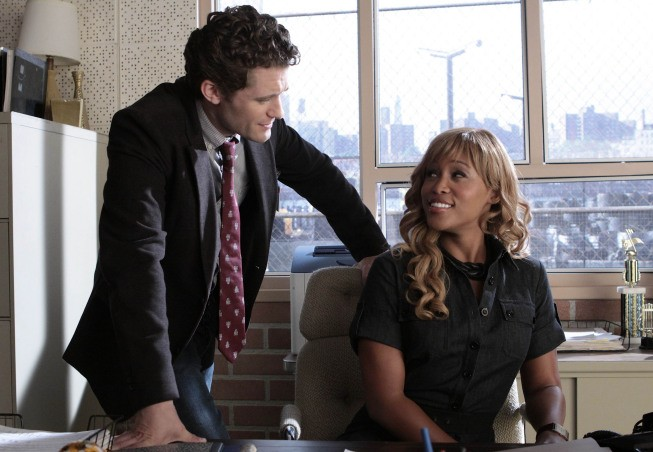 Glee: La guest star Eve con Matthew Morrison nell'episodio Hairography
