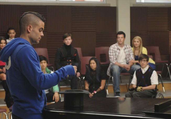 Glee: Mark Salling nell'episodio Ballads