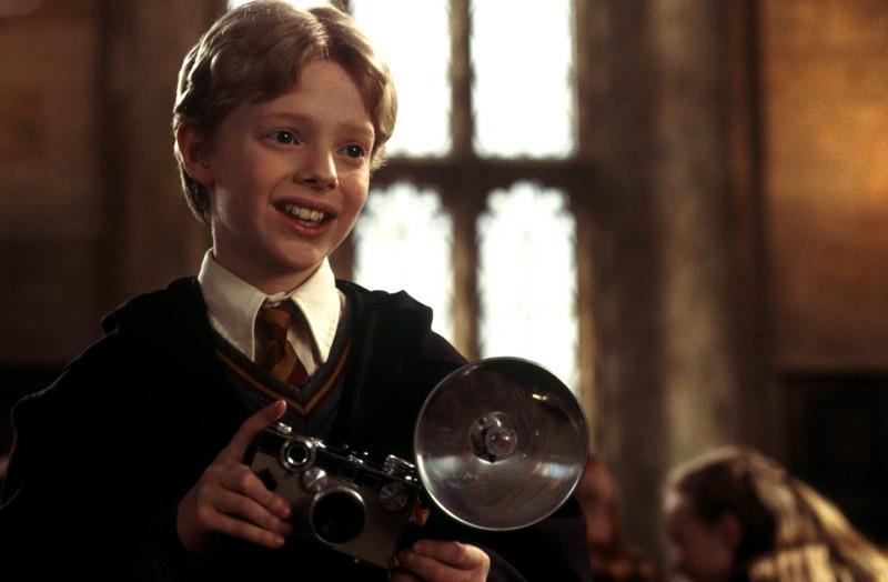 Hugh Mitchell interpreta Colin Creevey nel film Harry Potter e la Camera dei Segreti
