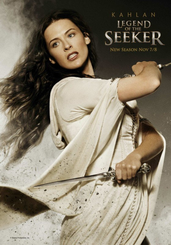 Legend of the Seeker, stagione 2: Character Poster per il personaggio di Bridget Regan