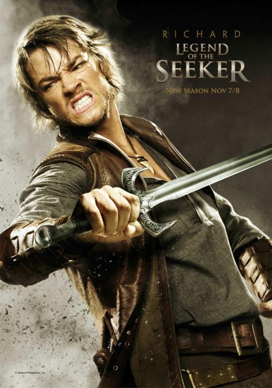 Legend of the Seeker, stagione 2: Character Poster per il personaggio di Craig Horner