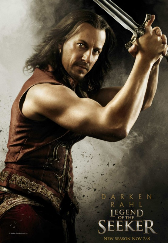 Legend of the Seeker, stagione 2: Character Poster per il personaggio di Craig Parker