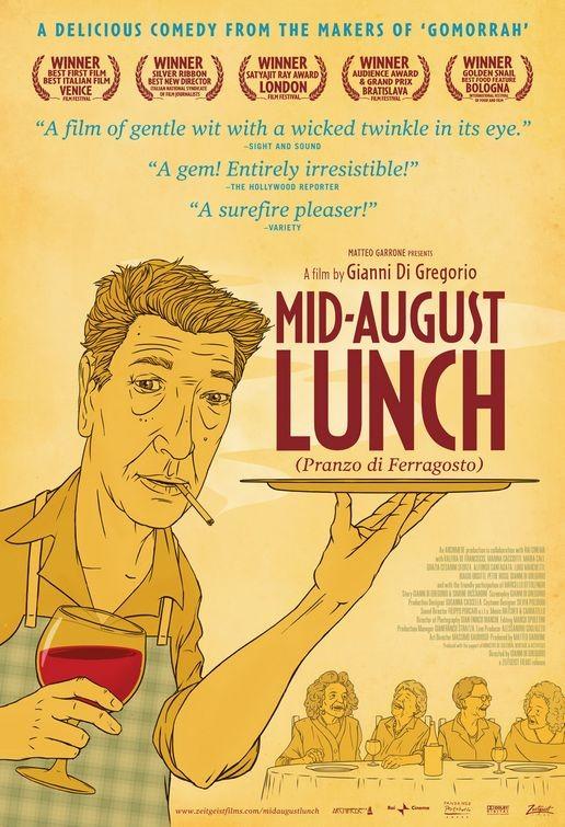 Poster americano per Mid-August Lunch (Pranzo di Ferragosto)