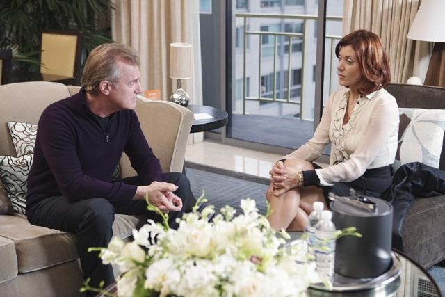 Private Practice: Kate Walsh e Stephen Collins nell'episodio Sins of the Father
