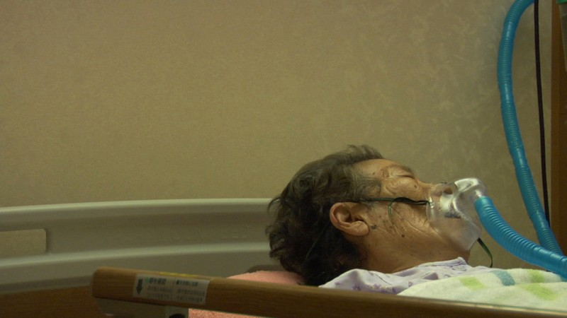 Una drammatica immagine di GRANDMOTHER di Yuki Kawamura (Giappone/Francia, 2009)