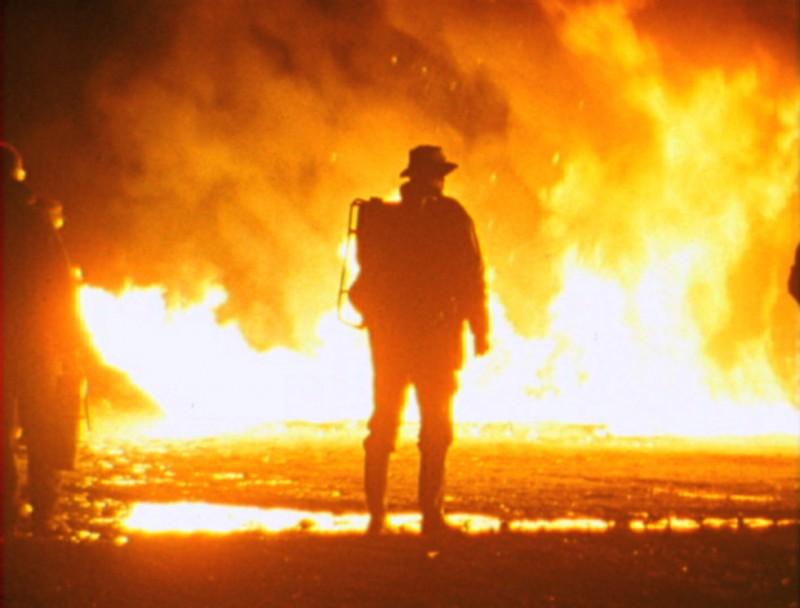 Una immagine di O'ER THE LAND di Deborah Stratman (USA, 2008)