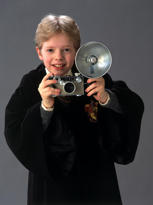 Colin (Hugh Mitchell) in una foto promozionale del film Harry Potter e la Camera dei Segreti