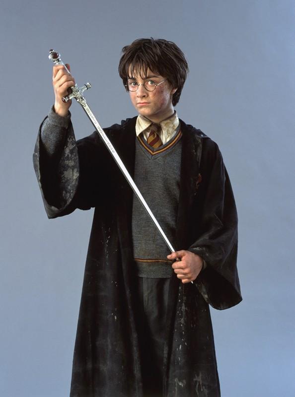 Daniel Radcliffe in una foto promo del film Harry Potter e la Camera dei Segreti