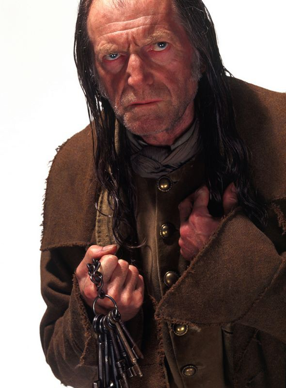 Gazza (David Bradley) in una foto promozionale del film Harry Potter e la Camera dei Segreti