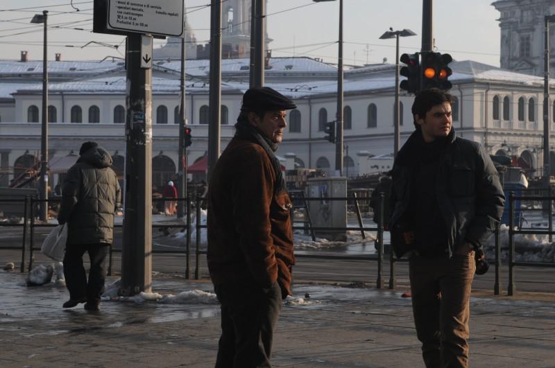 Ennio Fantastichini e Paolo Briguglia sono protagonisti del film La cosa giusta (2009)