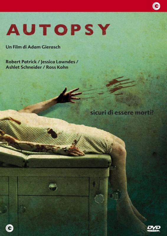 La copertina di Autopsy (dvd)