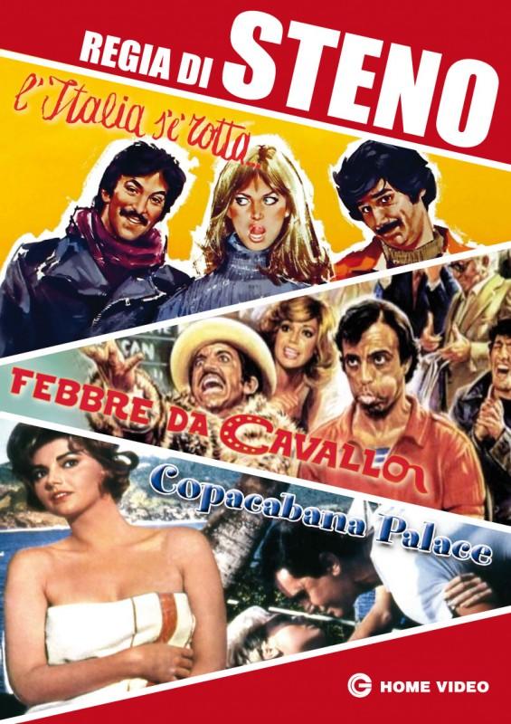 La copertina di Cofanetto Steno (dvd)