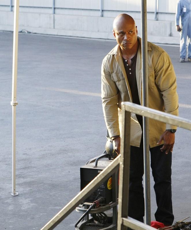 LL Cool J in una sequenza dell'episodio Pushback di NCIS: Los Angeles