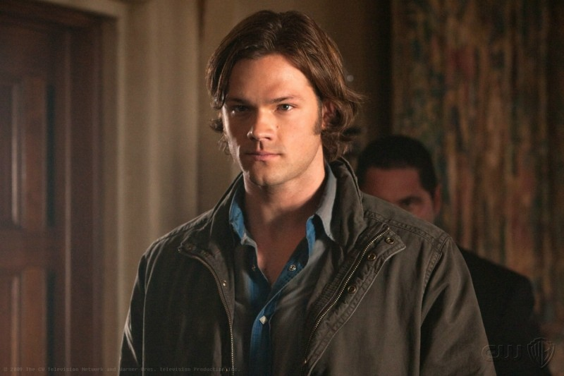 Supernatural: Jared Padalecki in una scena dell'episodio Abandon All Hope...