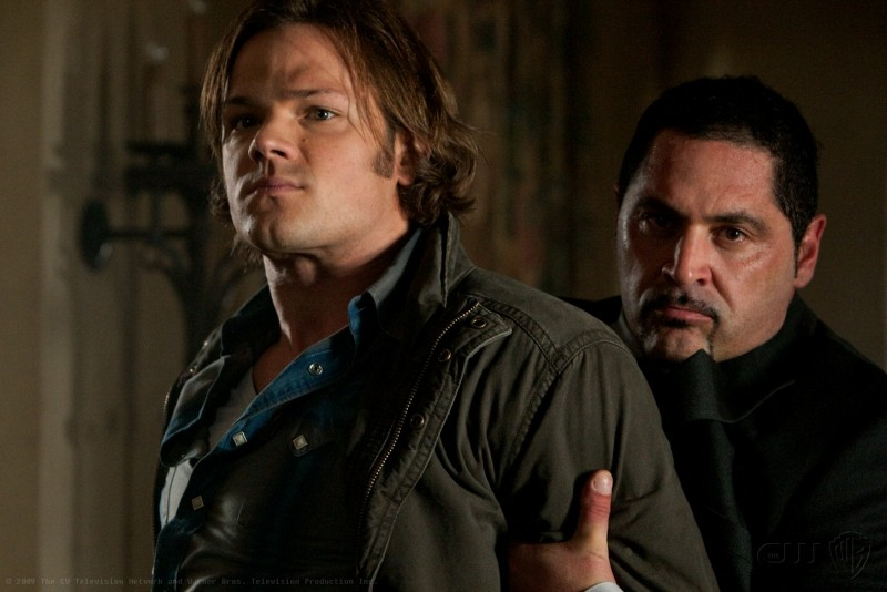 Supernatural: Jared Padalecki in una immagine dell'episodio Abandon All Hope...