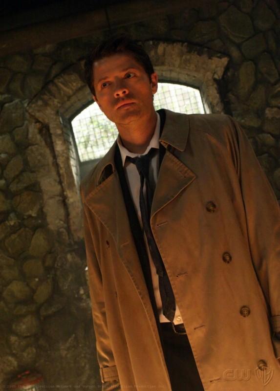 Supernatural: Misha Collins in un momento dell'episodio Abandon All Hope...
