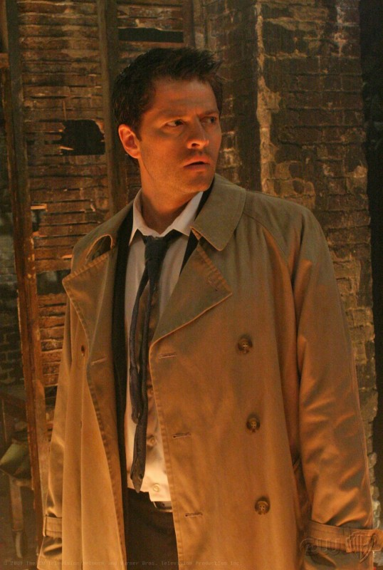 Supernatural: Misha Collins in una immagine dell'episodio Abandon All Hope...