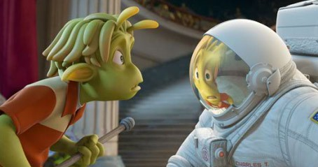 Un'immagine del cartoon Planet 51 (2009)